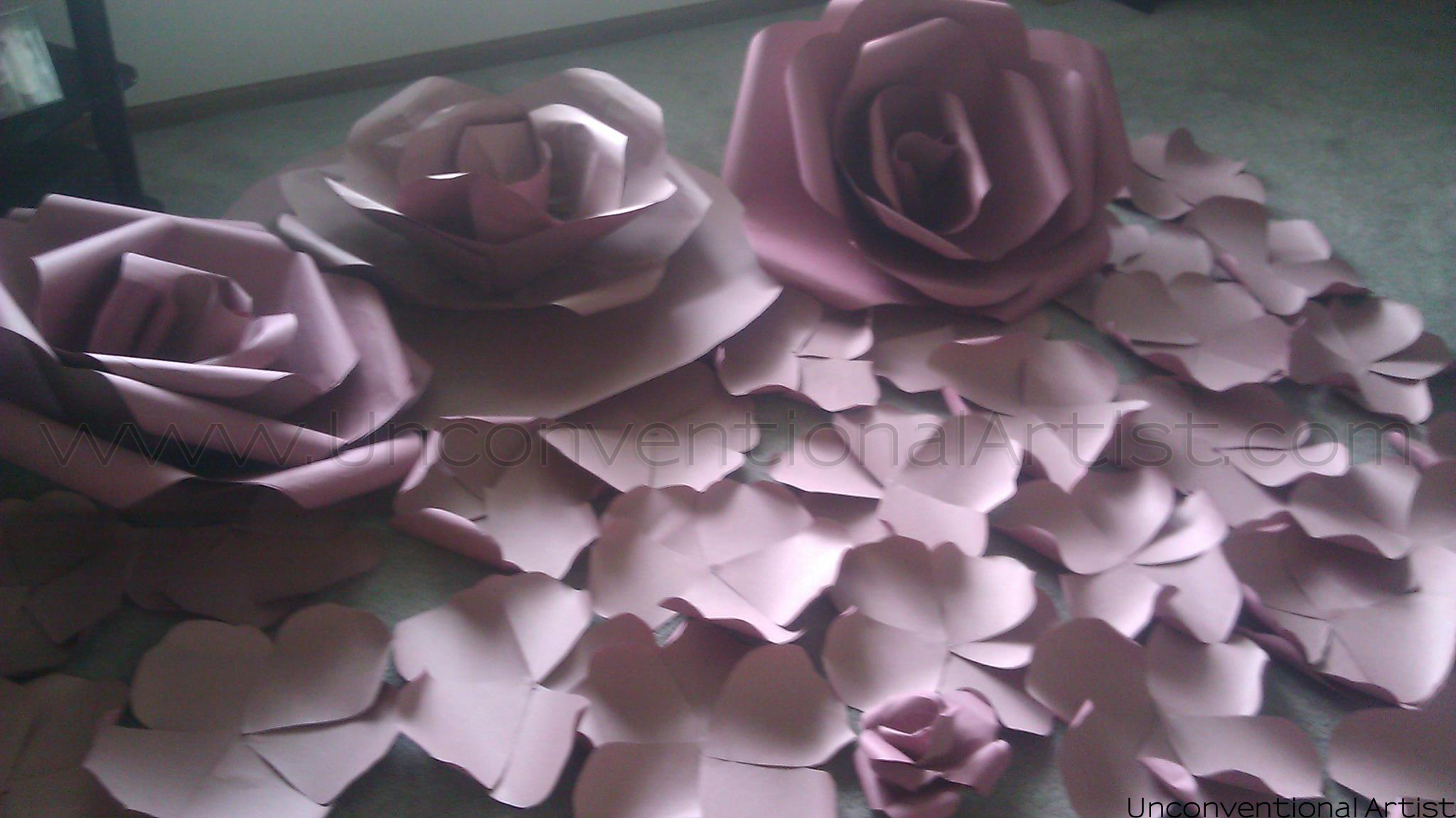 Origami Paper Flowers Instructions Comousar