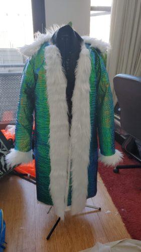 Custom Light Up LED Fur Coat