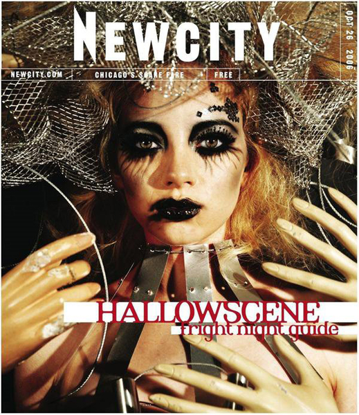 New City Halloween, halloween cover, halloween editorial, halloween magazine, halloween, editorial, chicago, newcity, new city