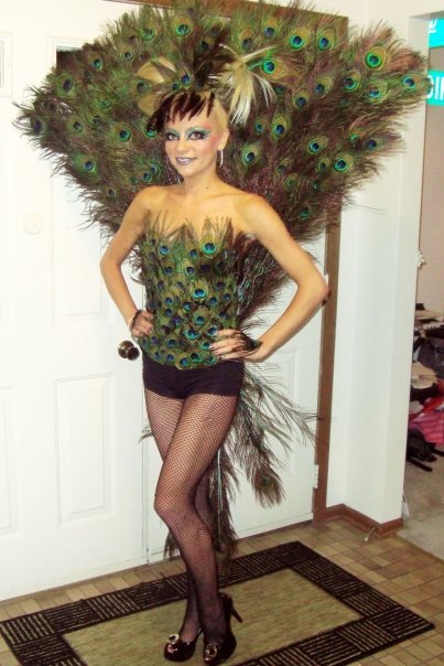 peacock costume, diy peacock costume, do it youreslf, diy, peacock, halloween peacock costume, peacock costume halloween, chicago, costume contest, winner, costume contest winner, home made costume, hand made costume, costume designer, feather costume, feather dress, feather outfit